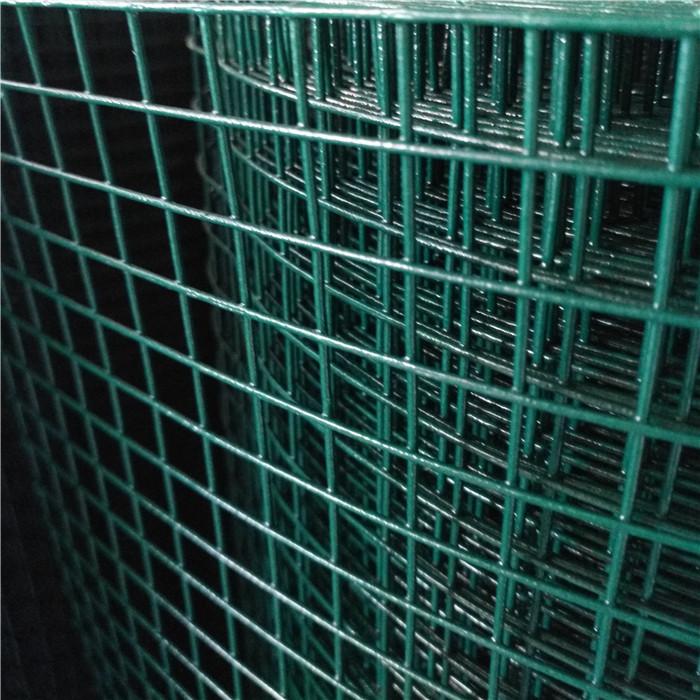 Dark Green PVC Coated Welded Wire Mesh Rolls
