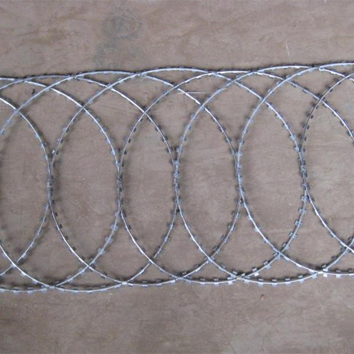 Wholesale China Black Annealed Iron Wire - Razor Wire Fence-Flat Wrap Type – Fuhai
