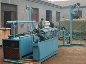 Automatic Diamond Mesh Machine (Hydraulic)