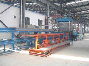 Steel grating welding equipment
