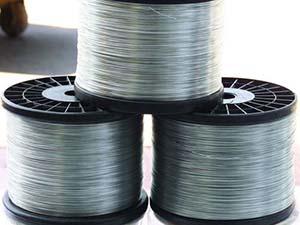 Bright annealed wire