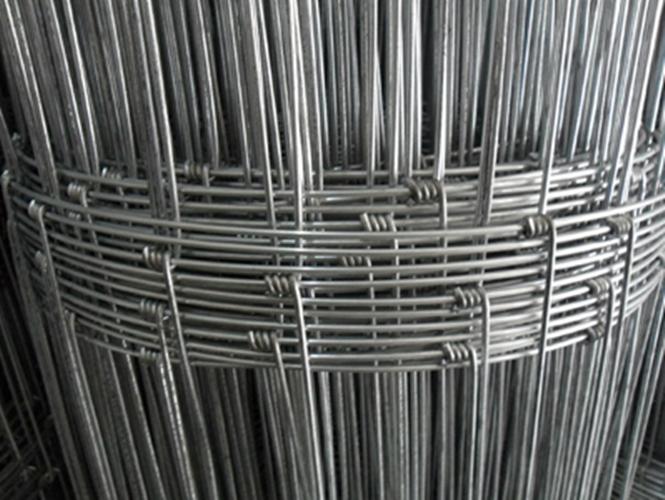 Galvanized Woven Field Fence Kraal Network