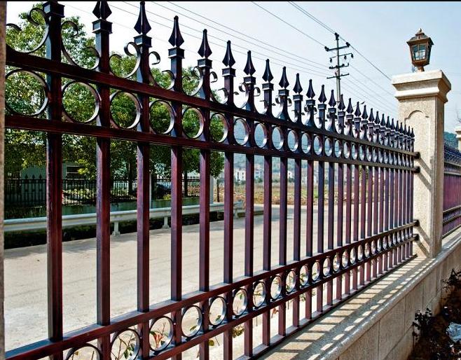 Wrought Iron Fence-Palisade Fence