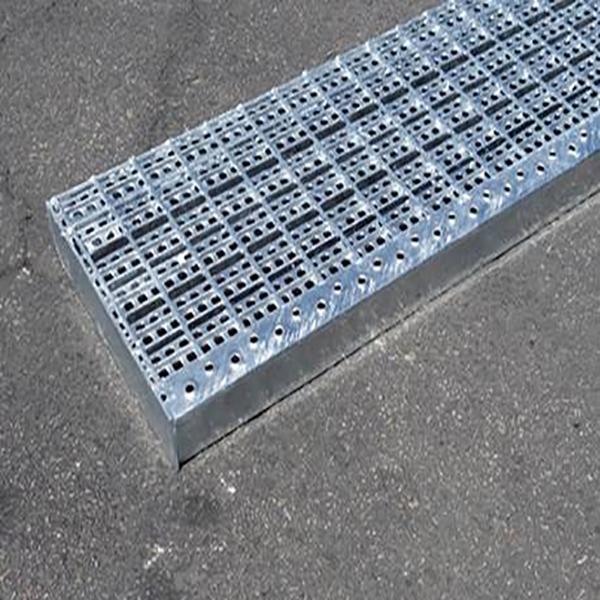 Security steel grating