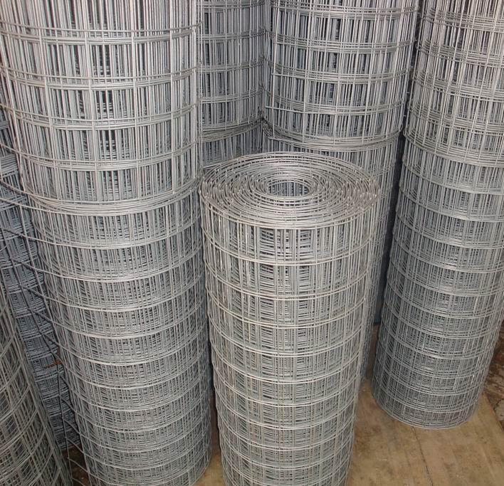Galvanized Welded Wire Mesh Rolls With 1/2 Aperture