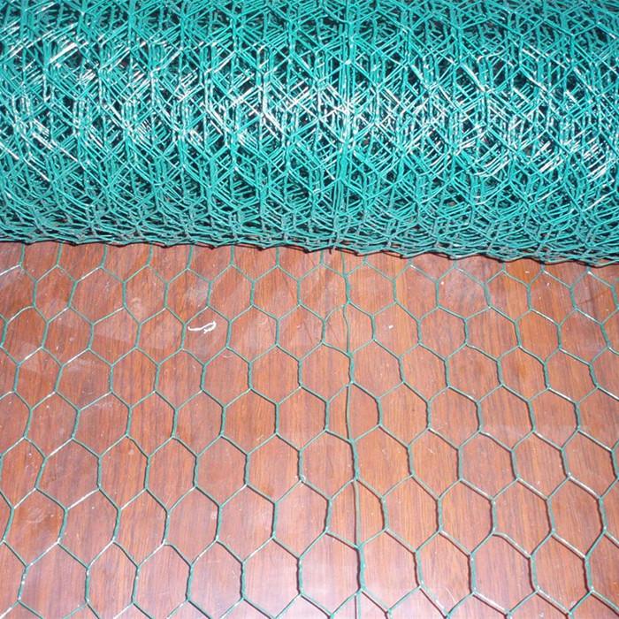 PVC Coated Hexagonal Chicken Wire