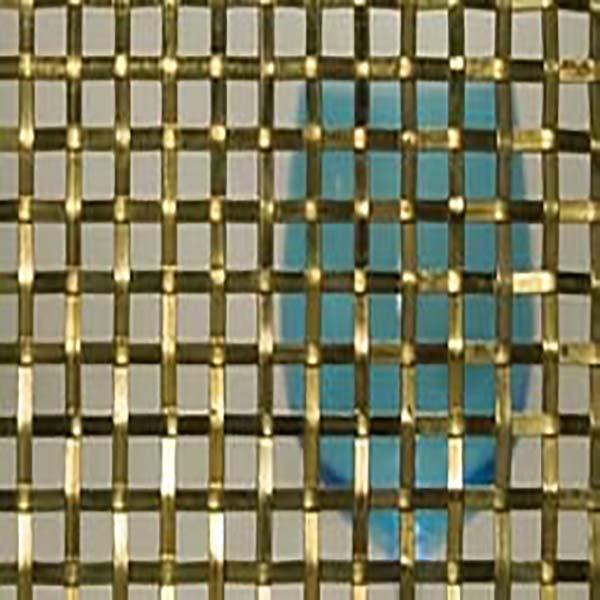 Brass mesh fabrics