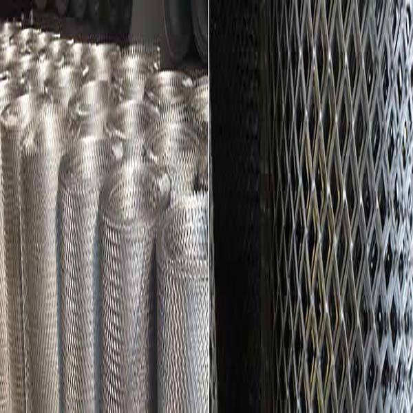 Expanded metal grating