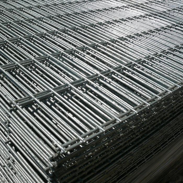 Black Steel Welded Wire Mesh Panel