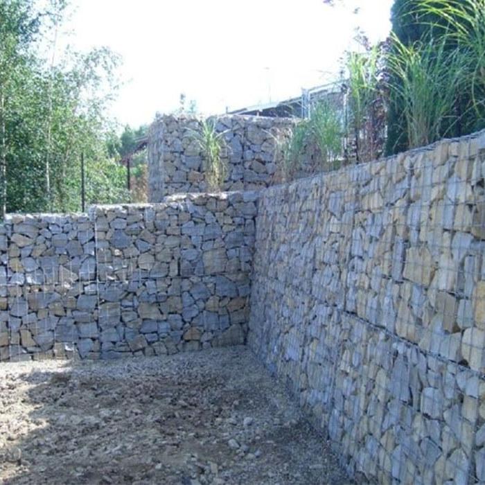 Hot-dip Galvanized Welding Stone Cage Net