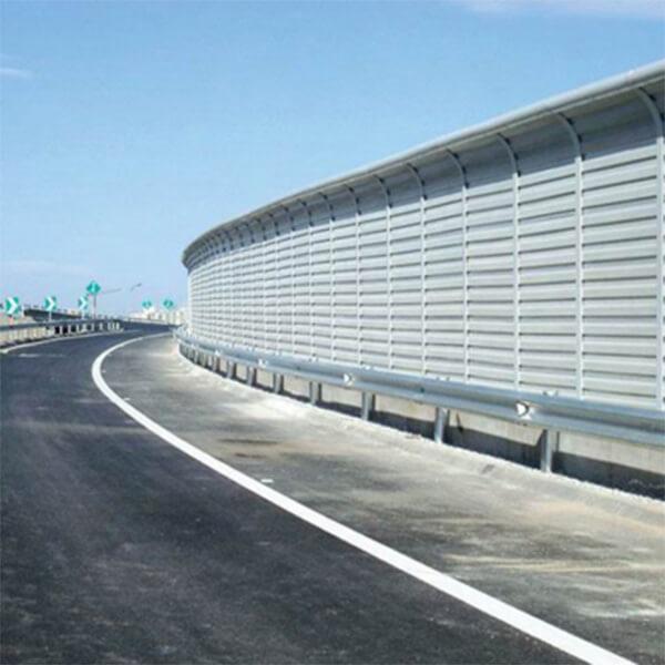 Landscape colorful acoustic barrier Featured Image
