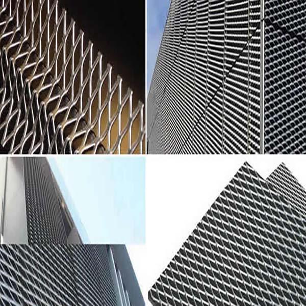 Decorative stylesstretchedand expanded mesh